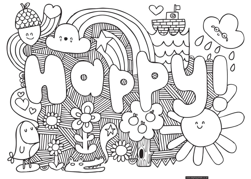 cool coloring pages for older kids 3