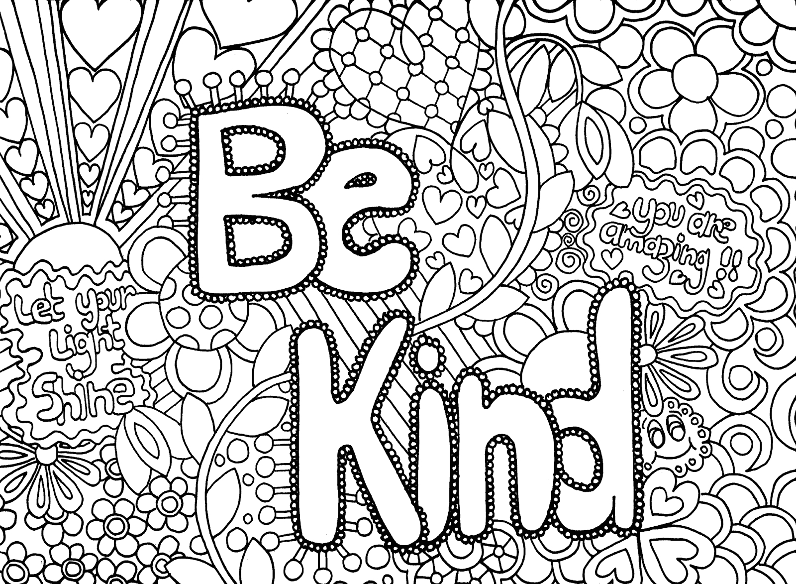 free printable coloring pages for older girls