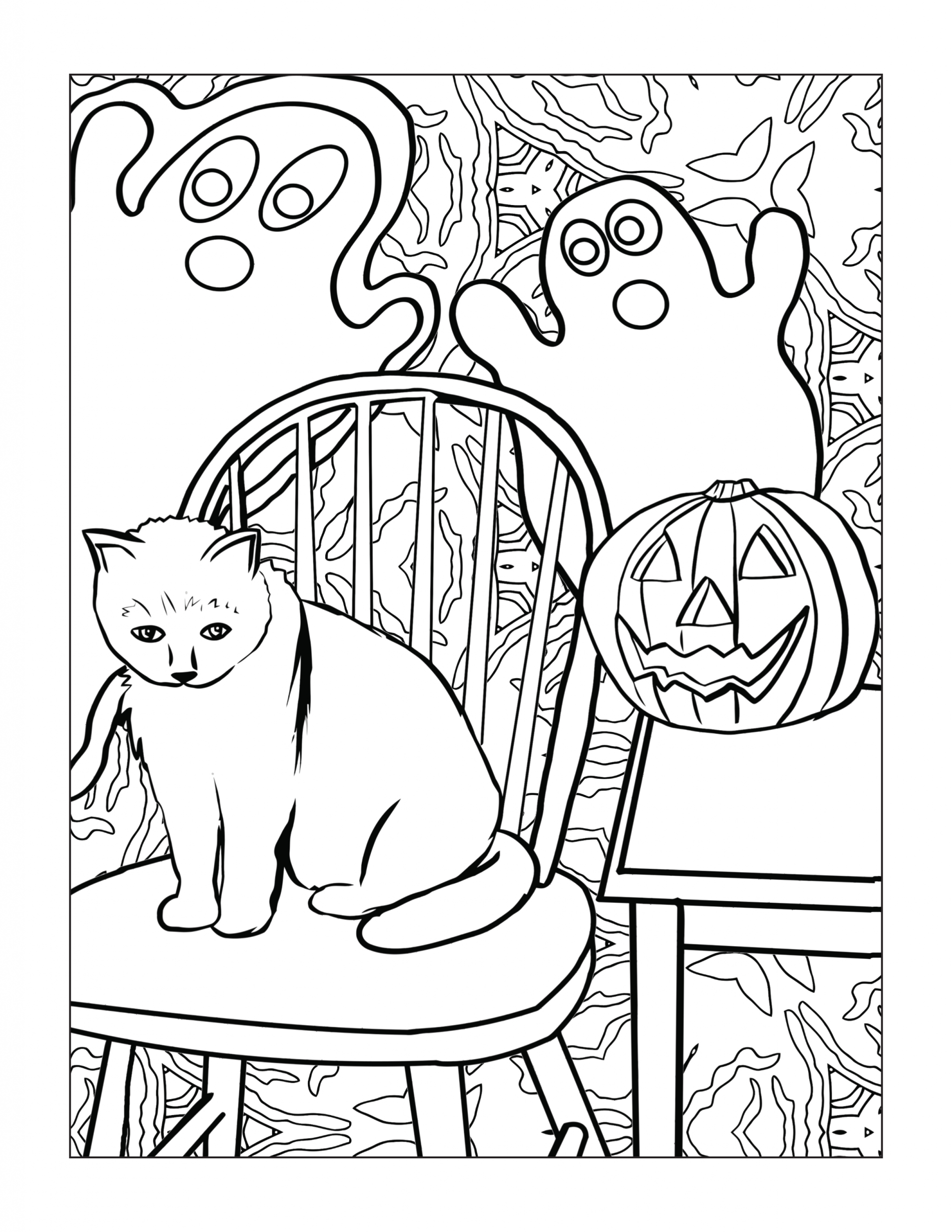 halloween coloring pages for older kids