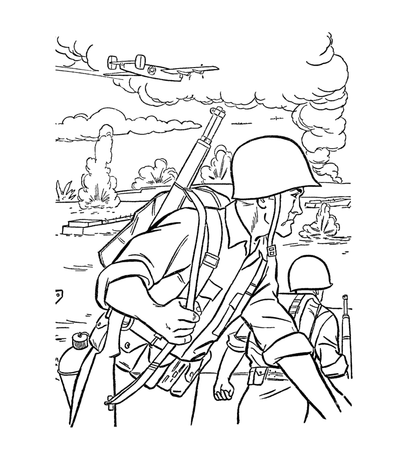 Free Printable Coloring Pages Of Army Men Free Printable Army Coloring Pages for Kids
