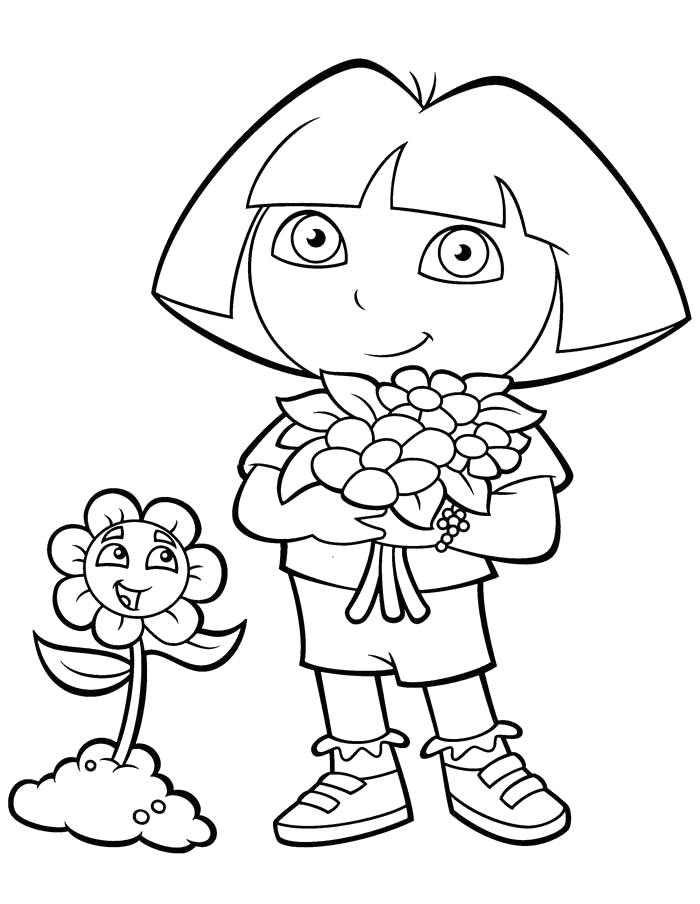 Free Printable Coloring Pages Of Dora the Explorer Free Dora the Explorer Coloring Pages Fan Art Free