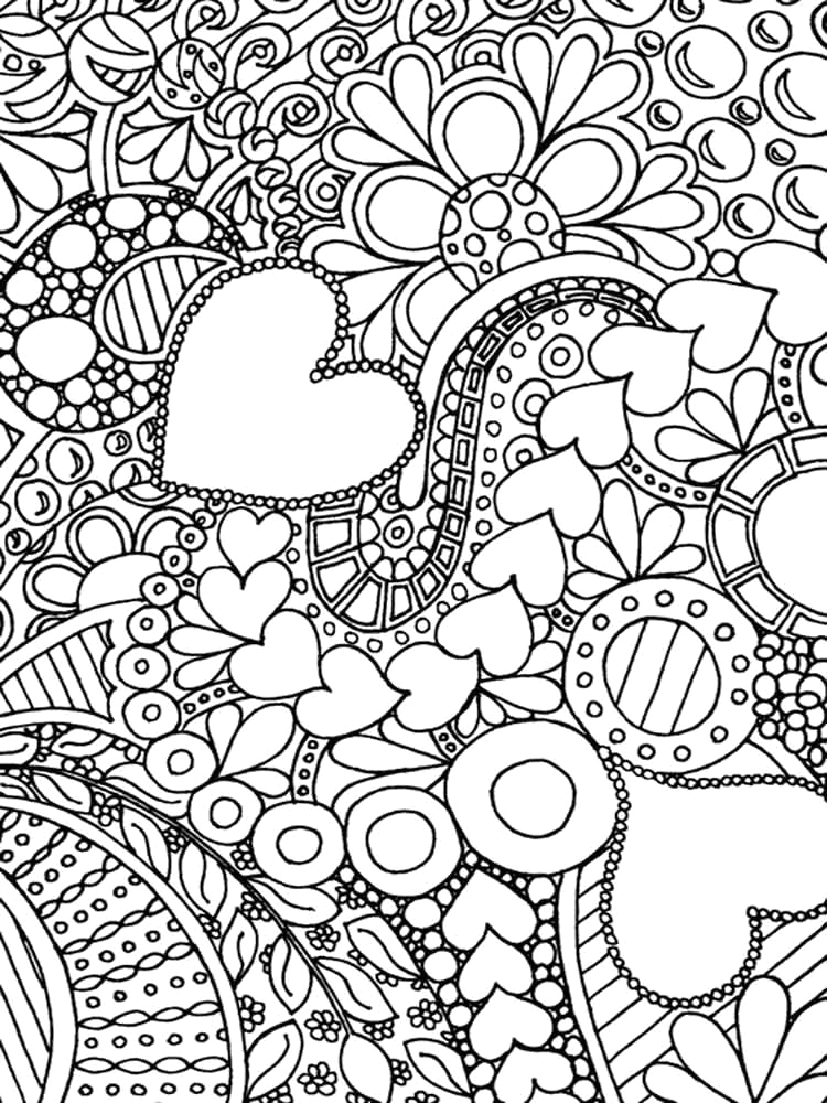 Free Printable Difficult Coloring Pages for Adults Difficult Coloring Pages for Adults Free Printable
