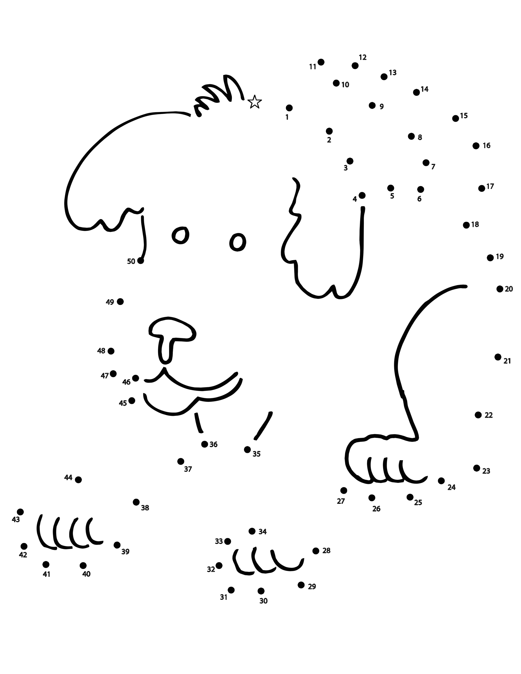 Free Printable Dot to Dot Coloring Pages Dot to Dots Coloring Pages Free Printable Coloring Pages