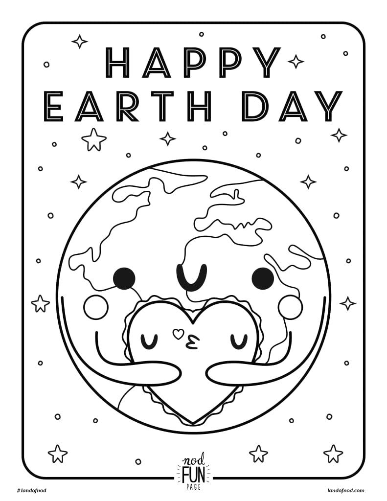 earth day free printables