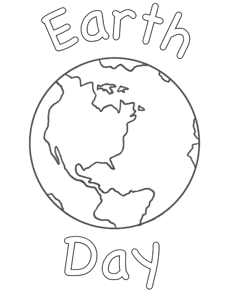 earth day coloring pages free to print