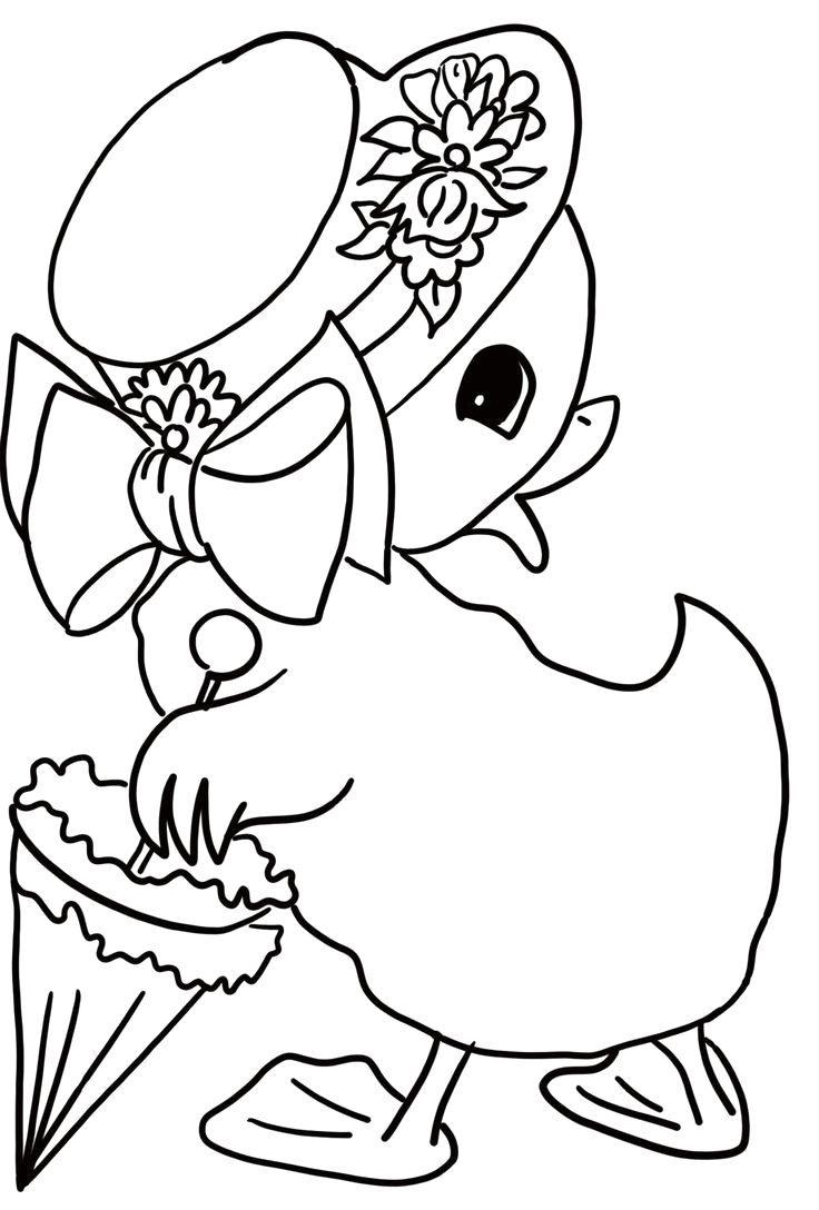Free Printable Easter and Spring Coloring Pages Cute Easter Coloring Pages Free Easter Coloring Pages for