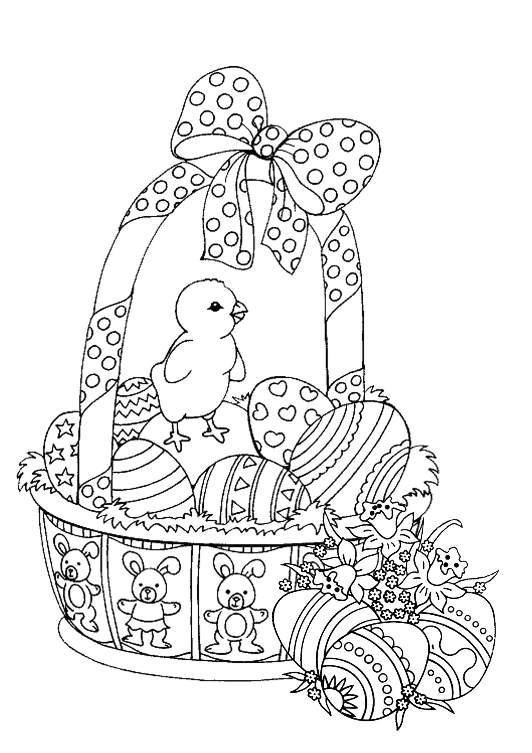 Free Printable Easter Coloring Pages for Adults Easter Coloring Pages for Adults Best Coloring Pages for