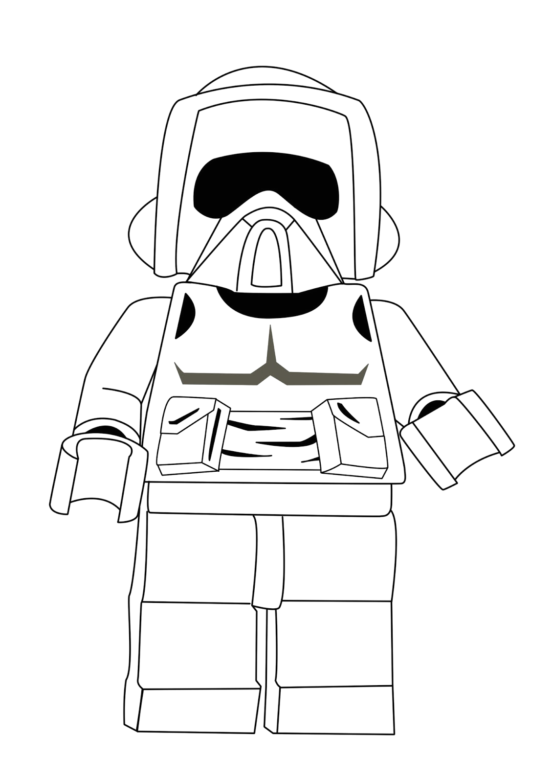 Free Printable Lego Star Wars Coloring Pages Lego Star Wars Coloring Pages Best Coloring Pages for Kids