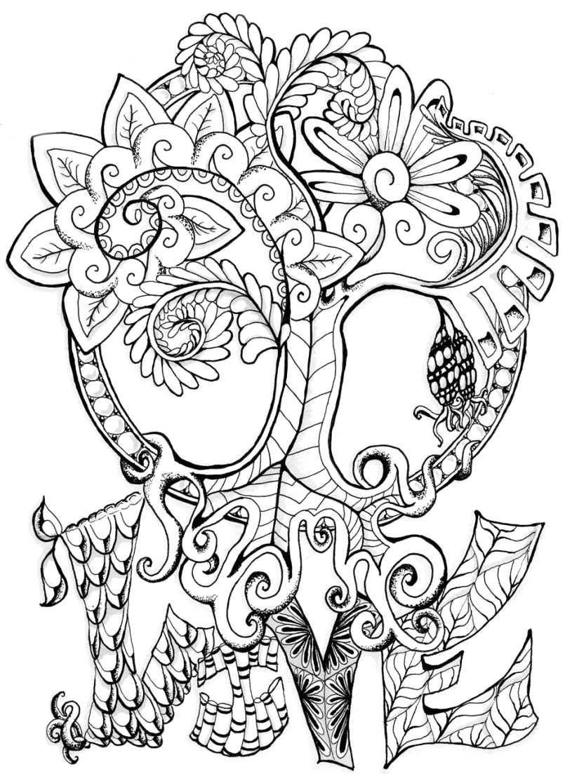 celtic tree of life coloring pages