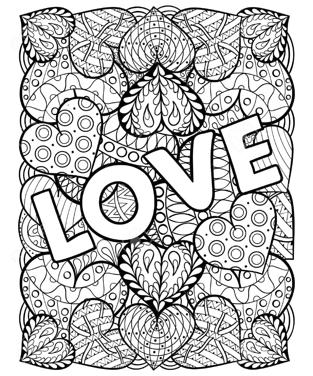Free Printable Valentine Coloring Pages for Adults Valentine Coloring Pages for Adults Neo Coloring