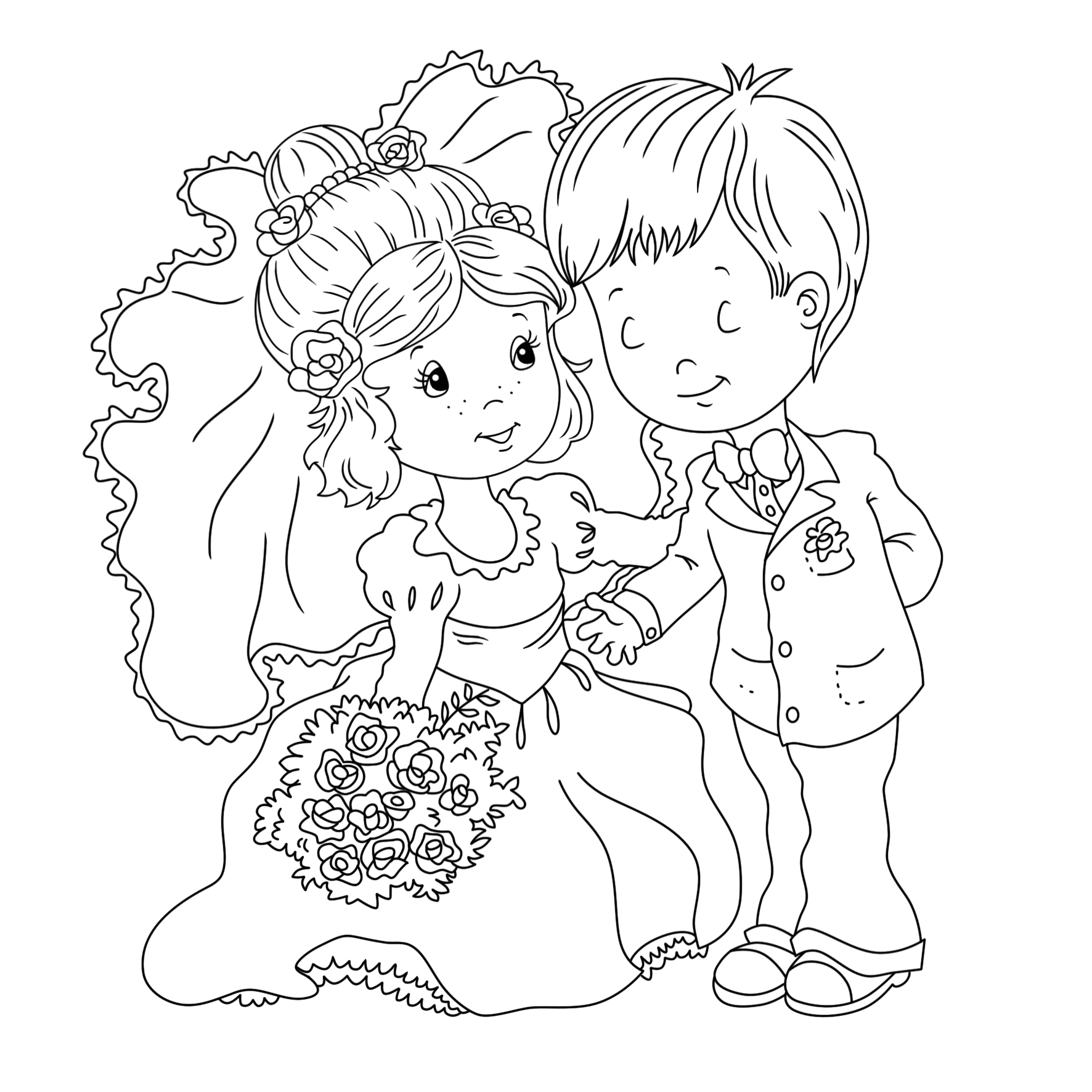 Free Printable Wedding Coloring Pages for Kids Wedding Coloring Pages Best Coloring Pages for Kids