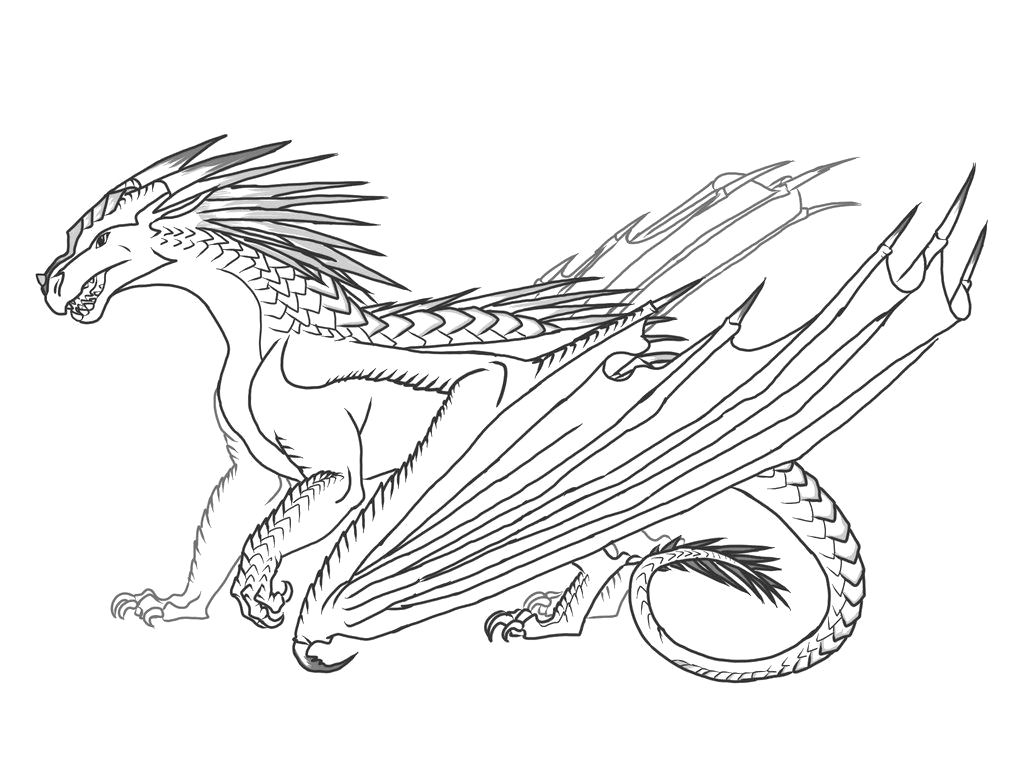 Free Printable Wings Of Fire Coloring Pages Wings Fire Coloring Pages Rainwing Drawings Free