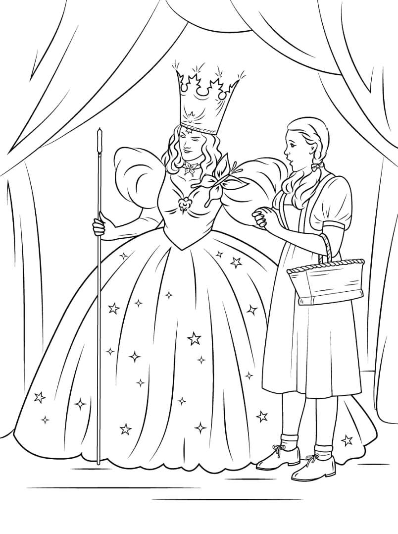 Free Printable Wizard Of Oz Coloring Pages the Wizard Of Oz Coloring Pages to and Print for Free