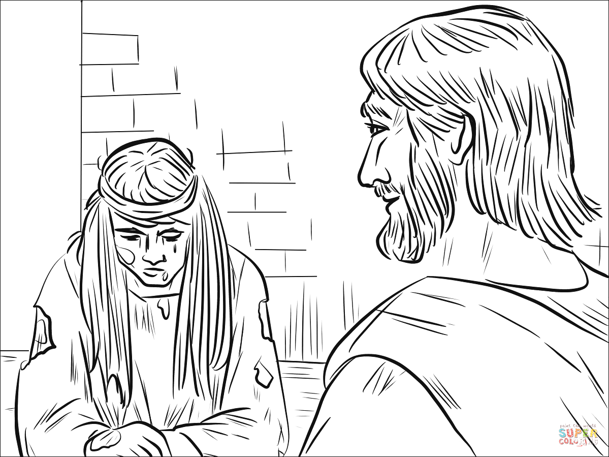 bible coloring pages john 8 32 sketch templates