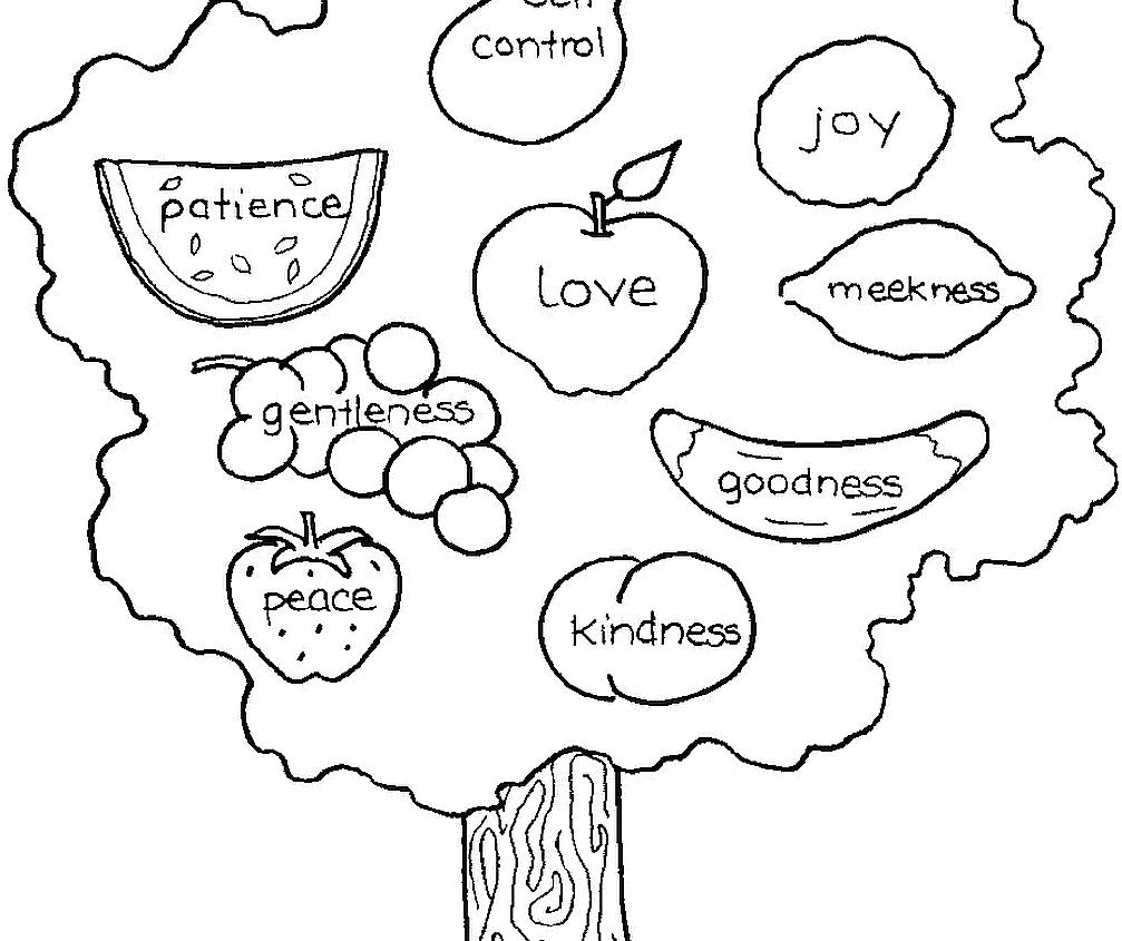 Joy Fruit Of the Spirit Coloring Page Joy Coloring Page at Getcolorings