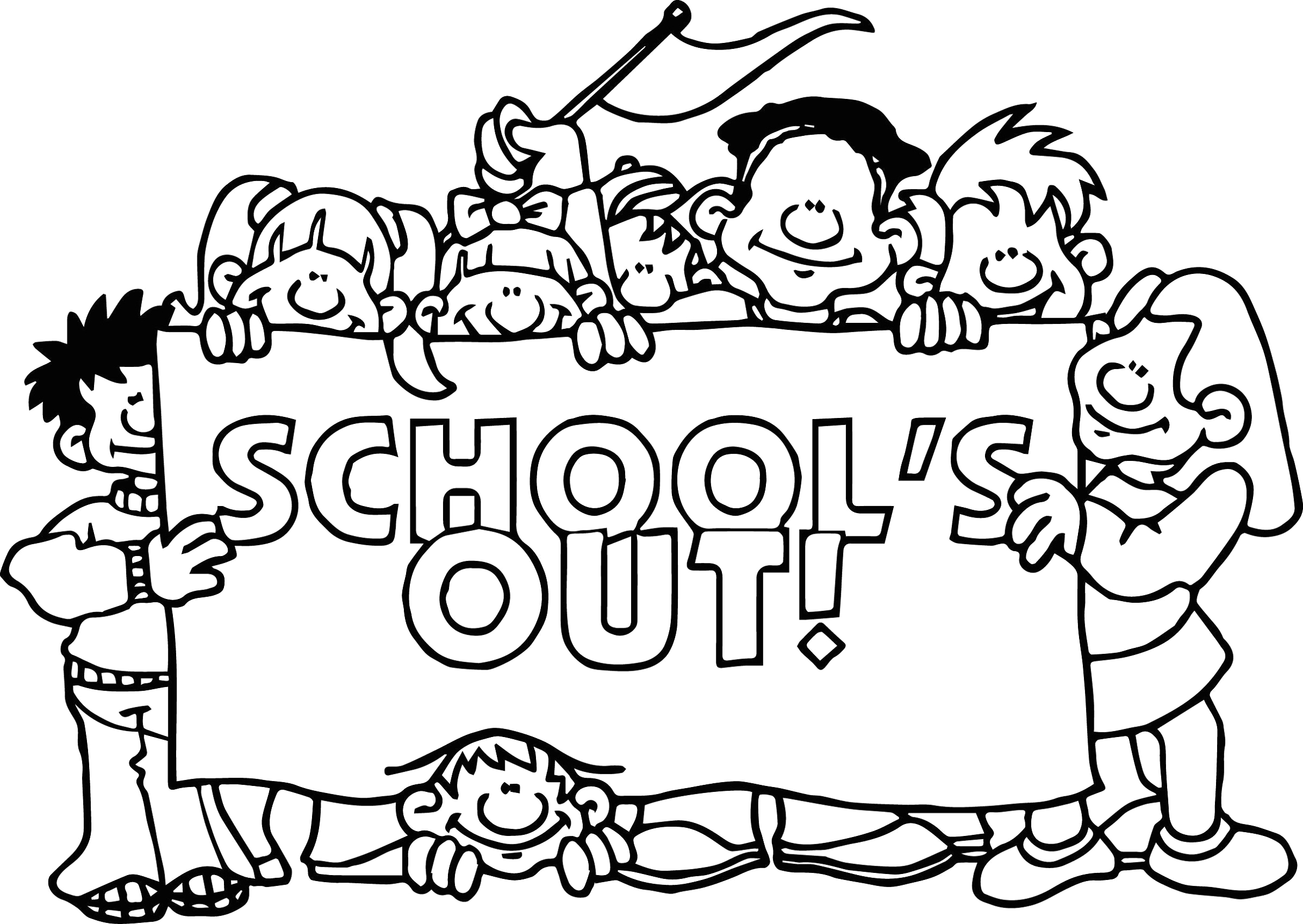 Last Day Of School Coloring Pages Printable Last Day Of School Coloring Pages