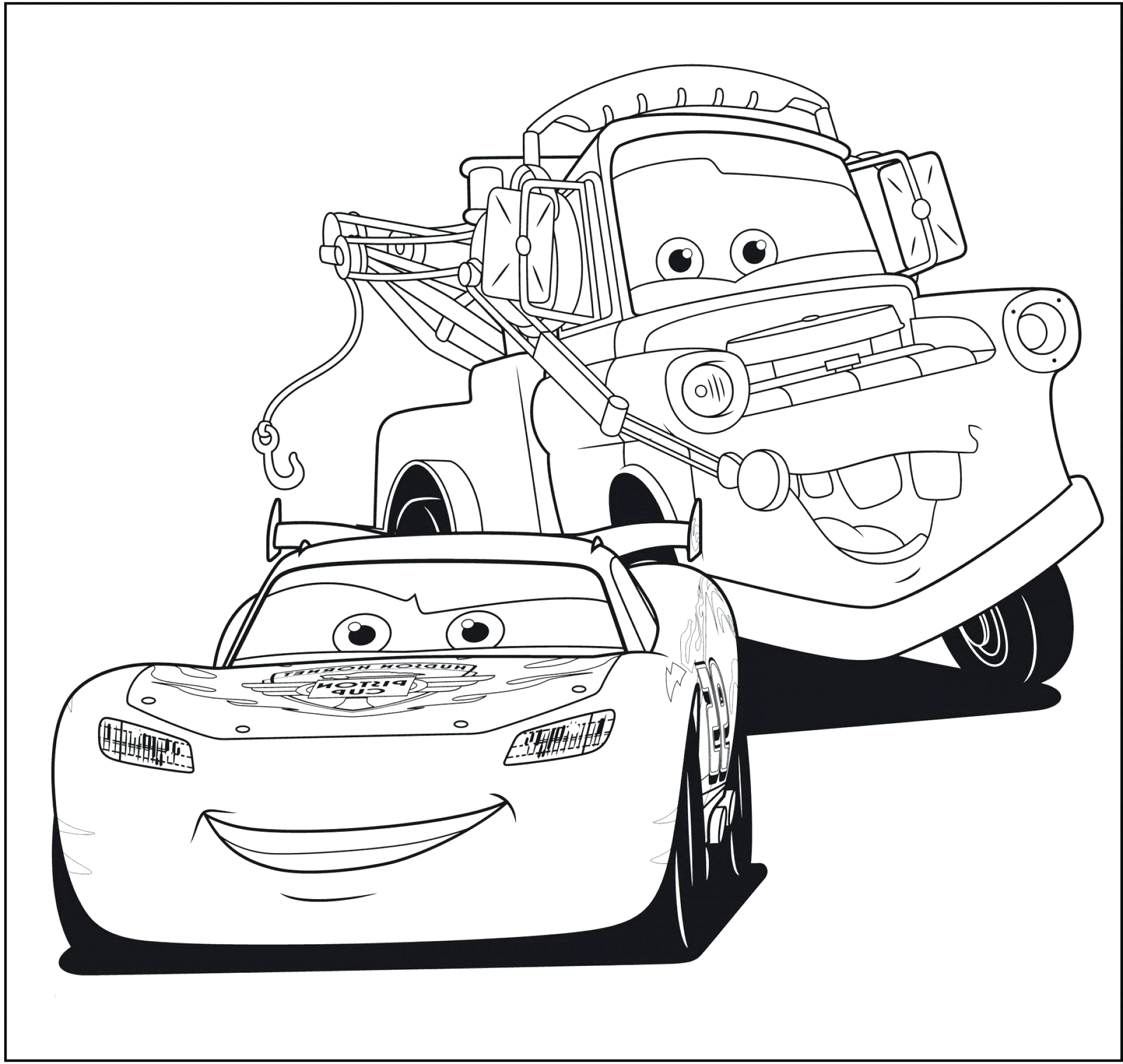 tow mater coloring page codeadventures co 2