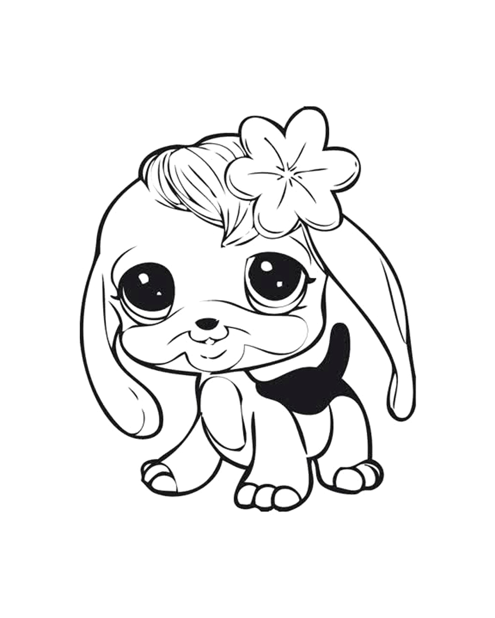 Littlest Pet Shop Coloring Pages to Print Littlest Pet Shops Coloring Page for My Kids