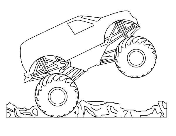 Monster Jam son Uva Digger Coloring Pages son Uva Digger Monster Truck – Blata