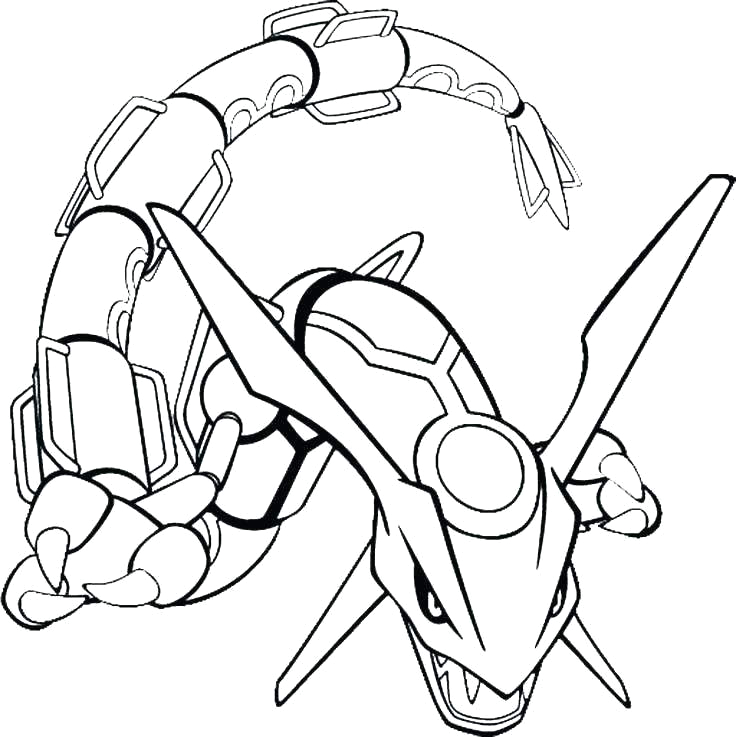 legendary pokemon coloring pages outline