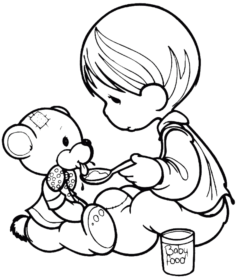 precious moments coloring pages to print out