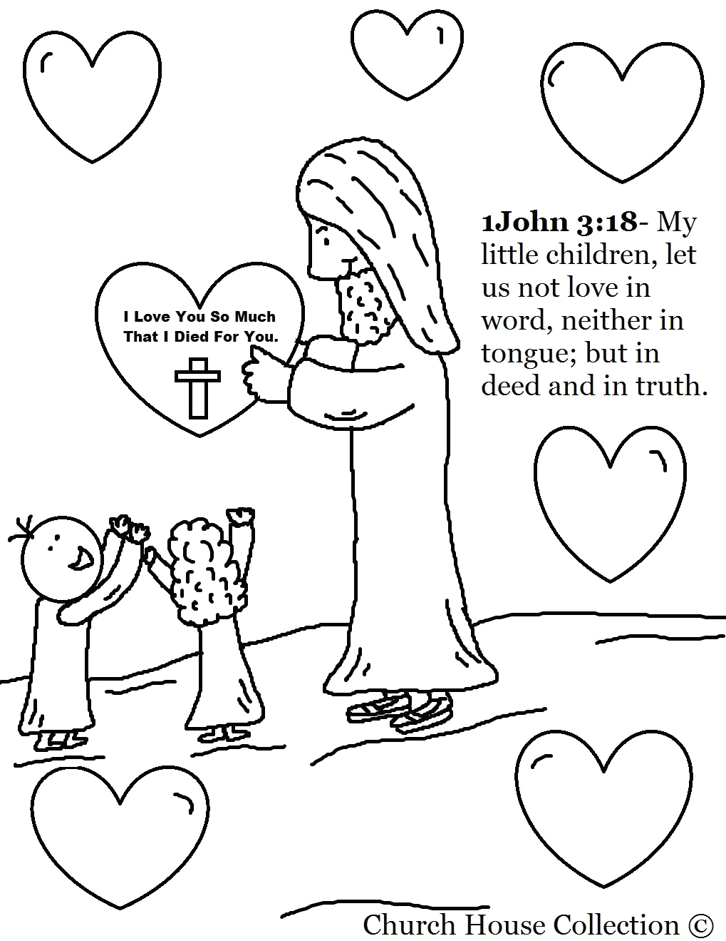 """Serve One Another In Love Coloring Page Sunday School Lesson """"serving E Another"""" 1 Peter 4 1 11"""