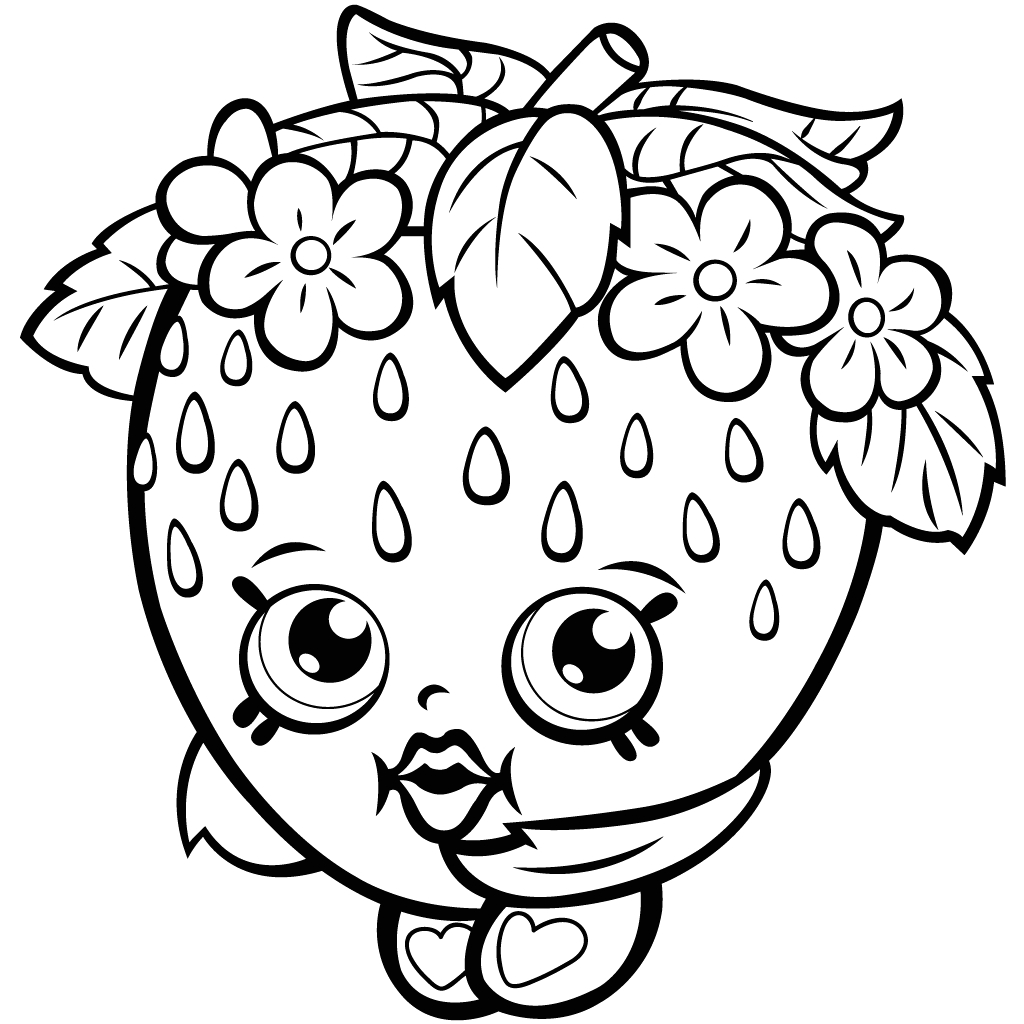 Shopkin Coloring Pages that You Can Print Shopkins Printable Coloring Pages at Getcolorings