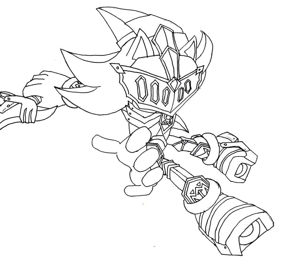 Sonic and the Black Knight Coloring Pages and the Black Knight sonic Coloring Pages Coloring Pages