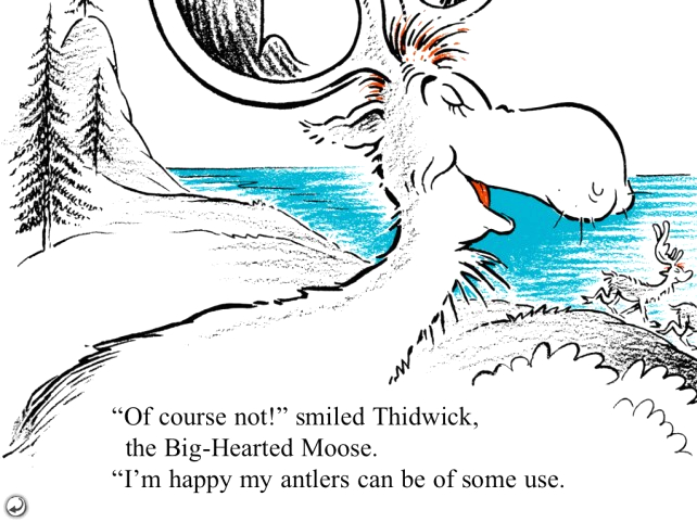 its thidwick the big hearted moose something you can only from dr seuss