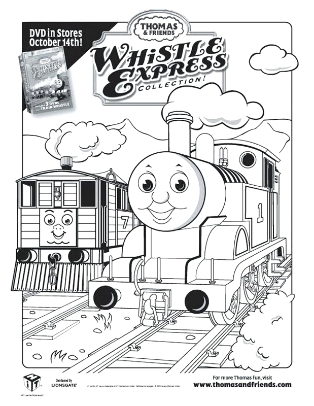 thomas birthday coloring pages