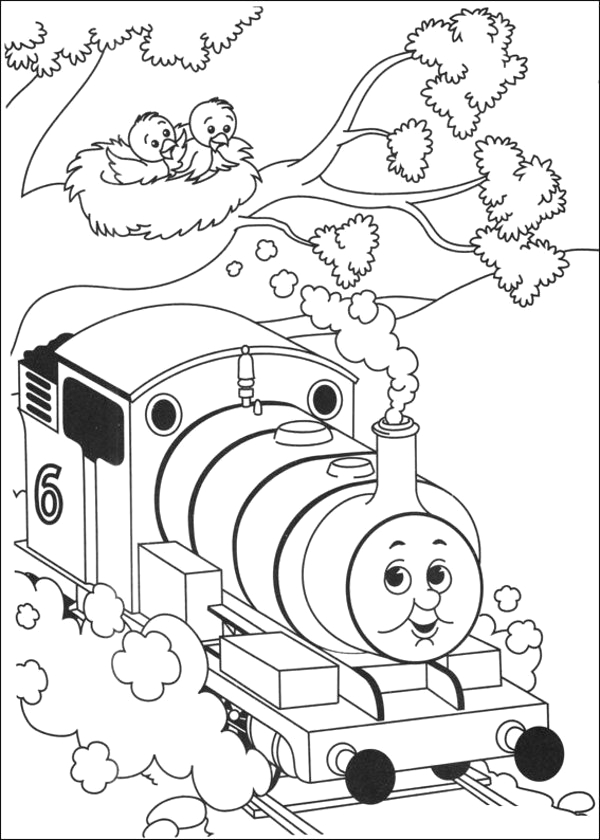 thomas the tank engine coloring pages 16