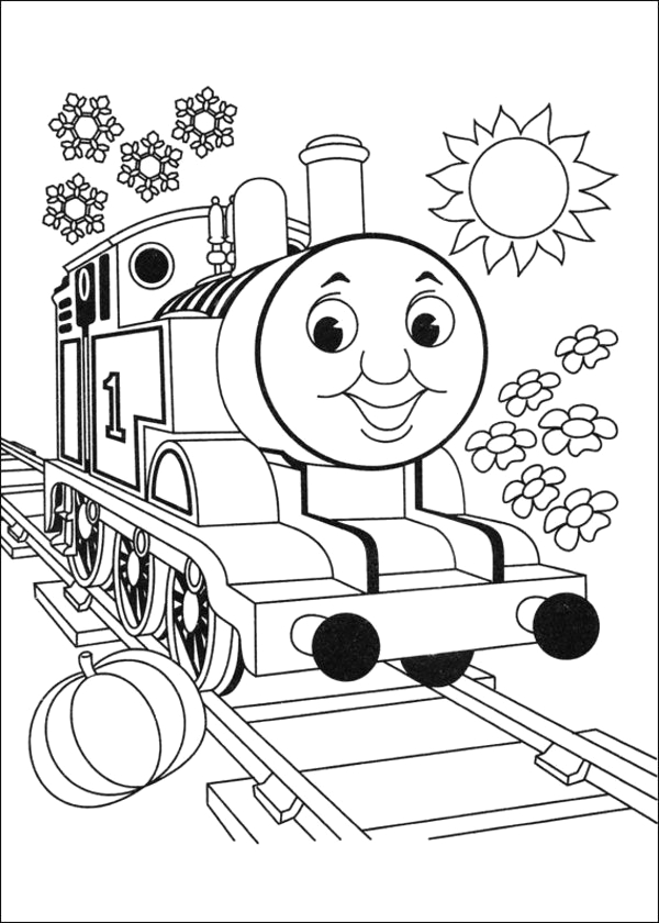 thomas the tank engine coloring pages 2 2