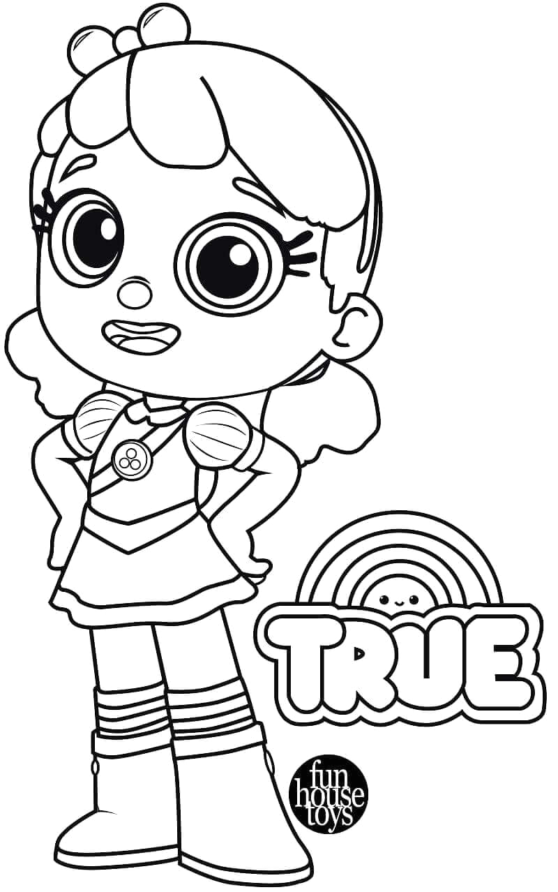 True and the Magic Kingdom Coloring Pages 15 Free Printable True and the Rainbow Kingdom Coloring Pages
