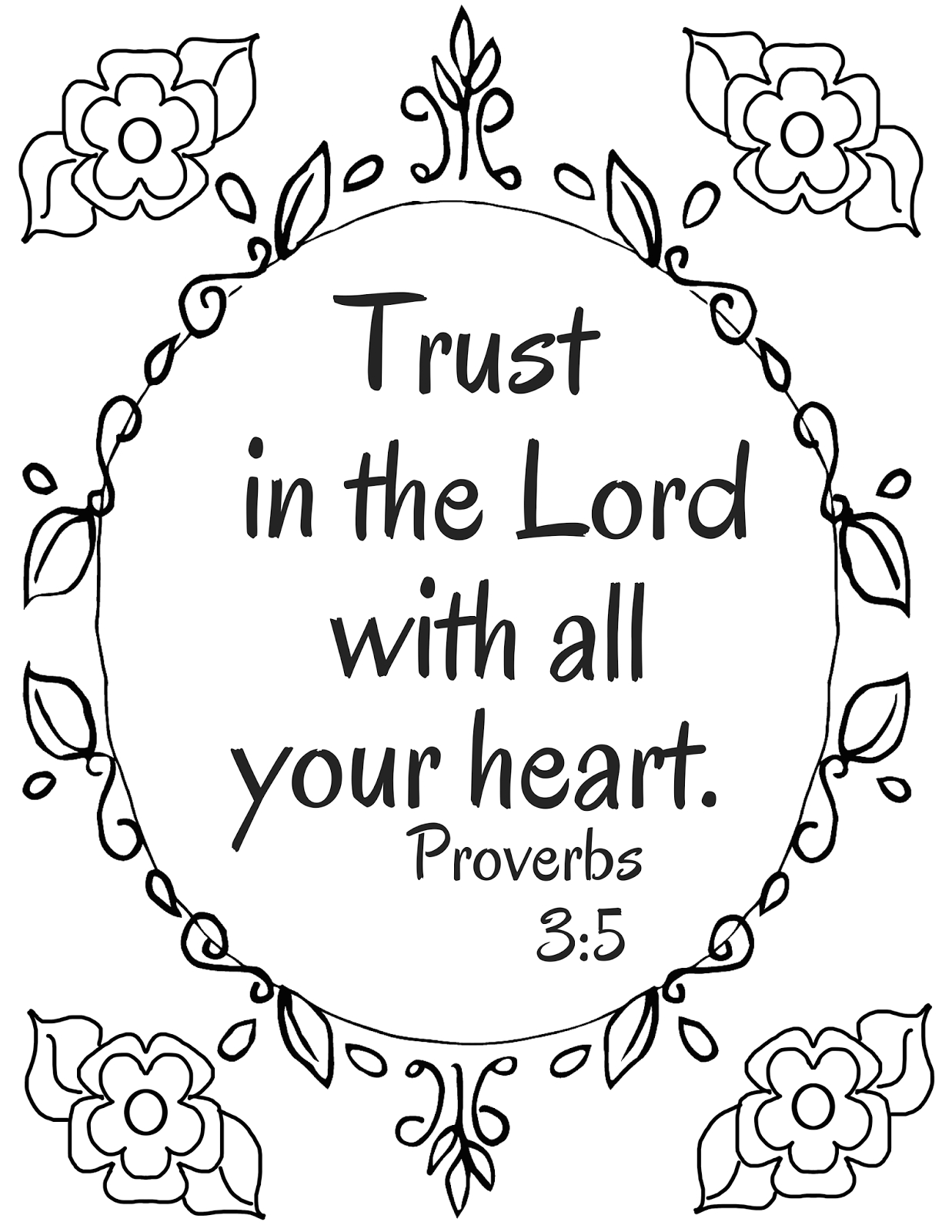 Trust In the Lord with All Your Heart Coloring Page the Prudent Pantry Trust In the Lord with All Your Heart