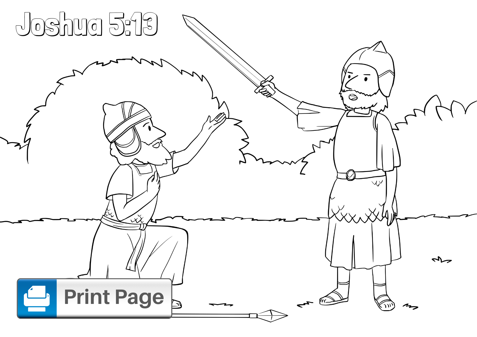 Walls Of Jericho Bible Story Coloring Pages Free Walls Of Jericho Coloring Pages for Kids Printable