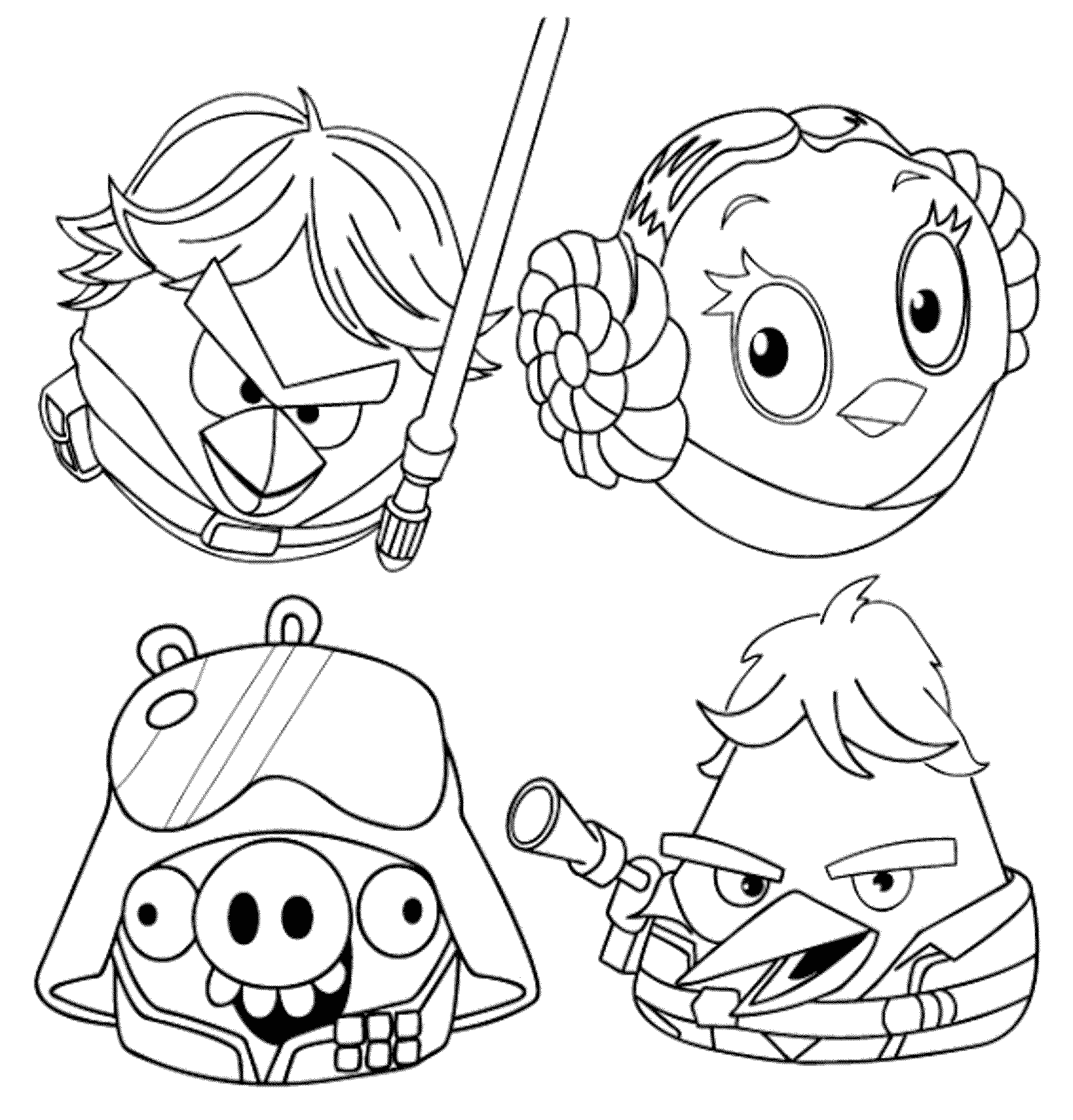 Angry Birds Space Free Printable Coloring Pages Angry Birds Coloring Pages for Your Small Kids