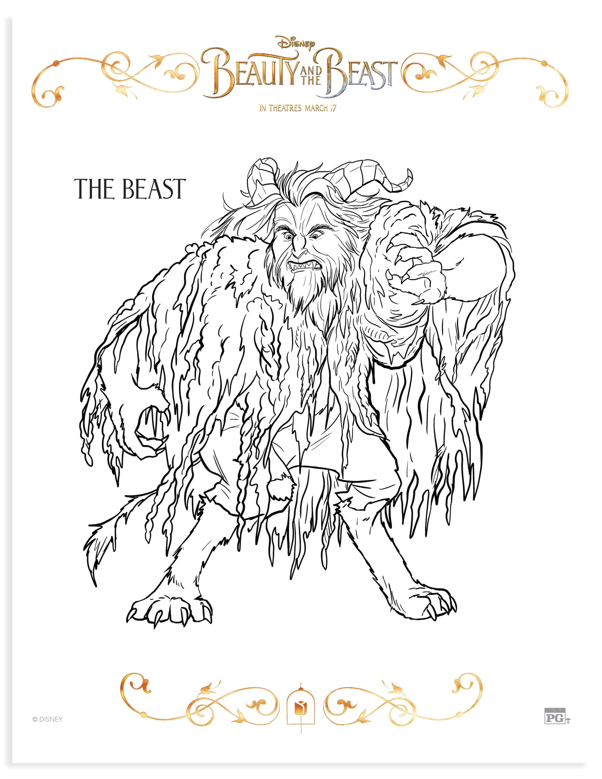 beauty beast mom review printable coloring pages activities