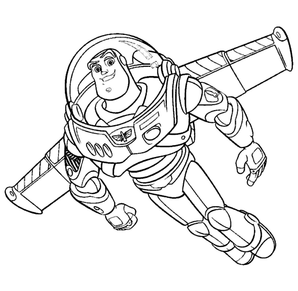 Buzz Lightyear Coloring Pages Free to Print Free Printable Buzz Lightyear Coloring Pages for Kids