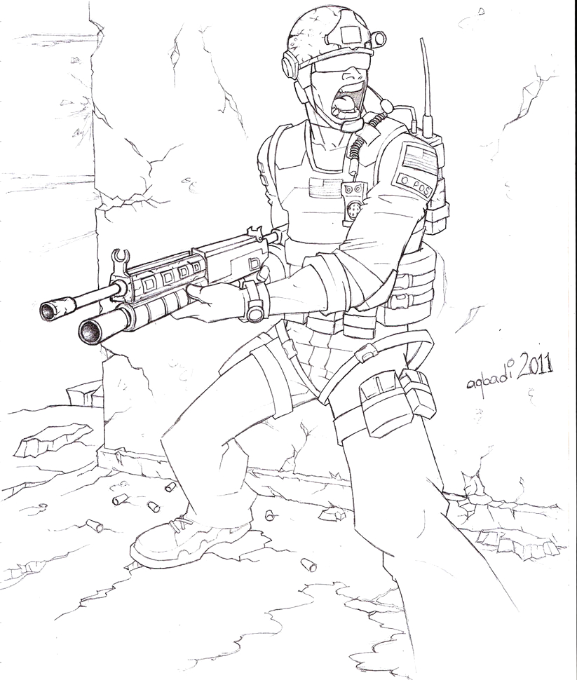 call of duty black ops 3 gun coloring pages sketch templates