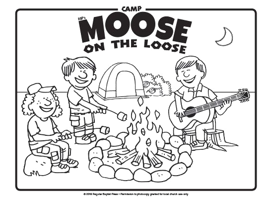 Camp Moose On the Loose Coloring Pages Download Free Coloring Pages for Camp Moose On the Loose