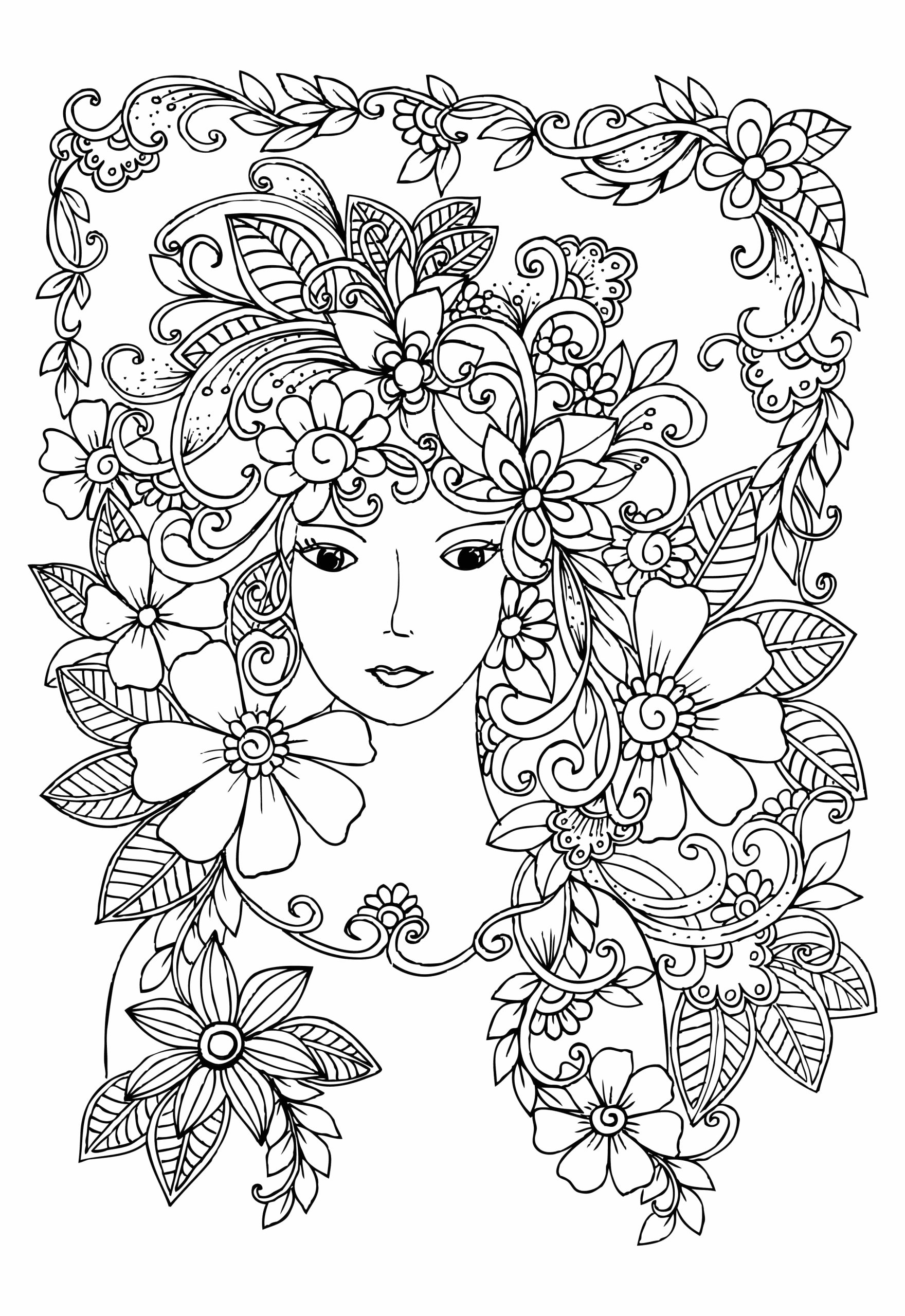 Coloring Pages for 10 12 Year Olds Plex Coloring Pages for 10 to 12 Year Old Girls Print