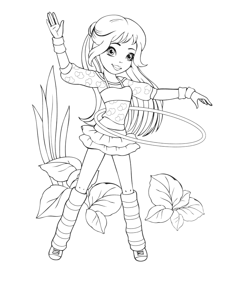 coloring pages 8910 year old girls