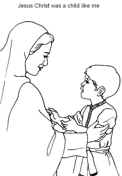 Coloring Pages Of Jesus as A Boy Pin On Heroes