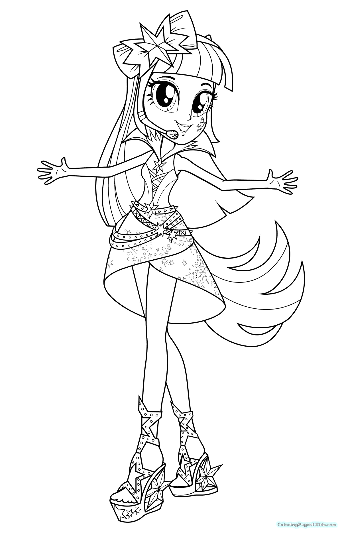 Coloring Pages Of My Little Pony Equestria Girls My Little Pony Equestria Girls Rainbow Rocks Coloring Pages