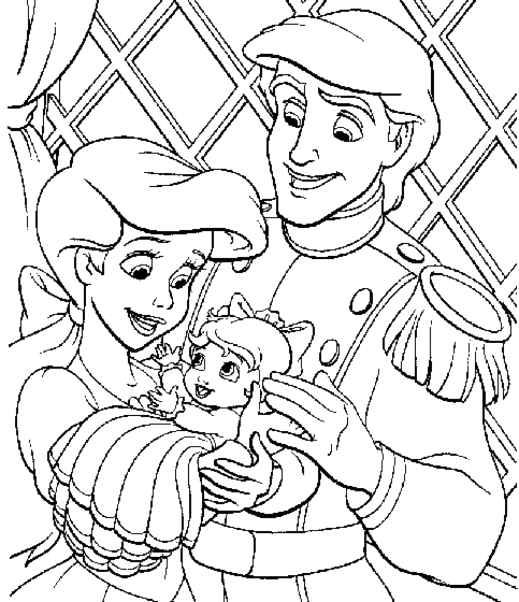 princess coloring pages support childs activity