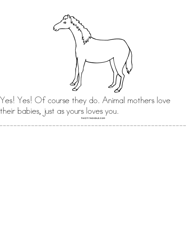does a kangaroo have a mother too 6 minibook