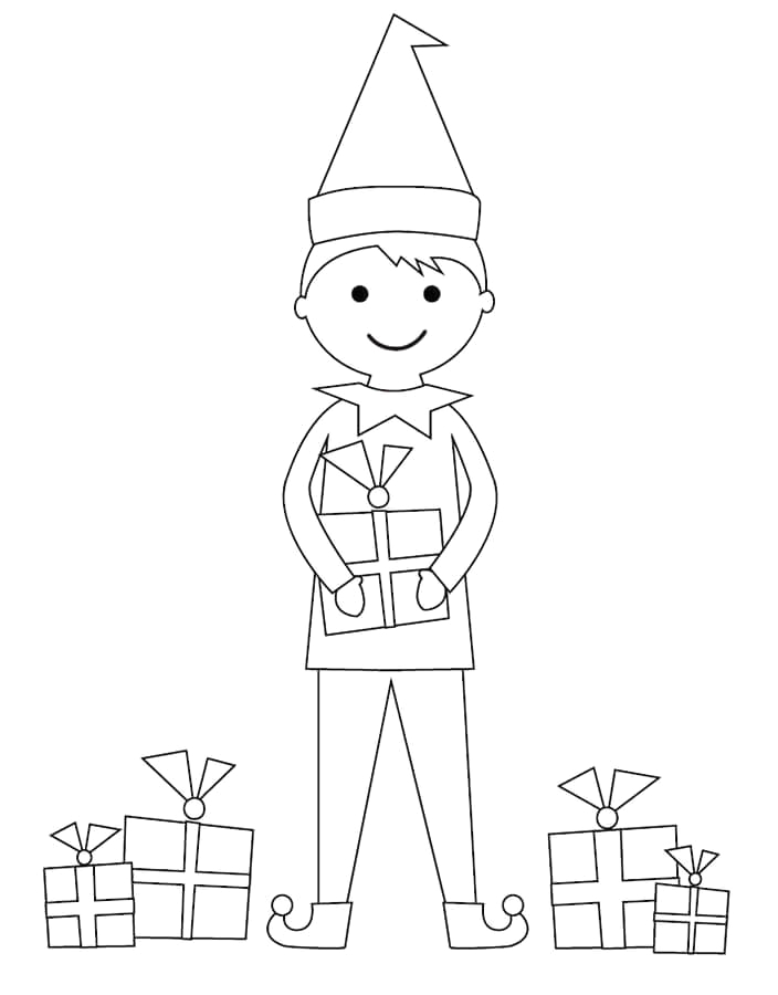 100 printable christmas coloring pages for kids of all ages