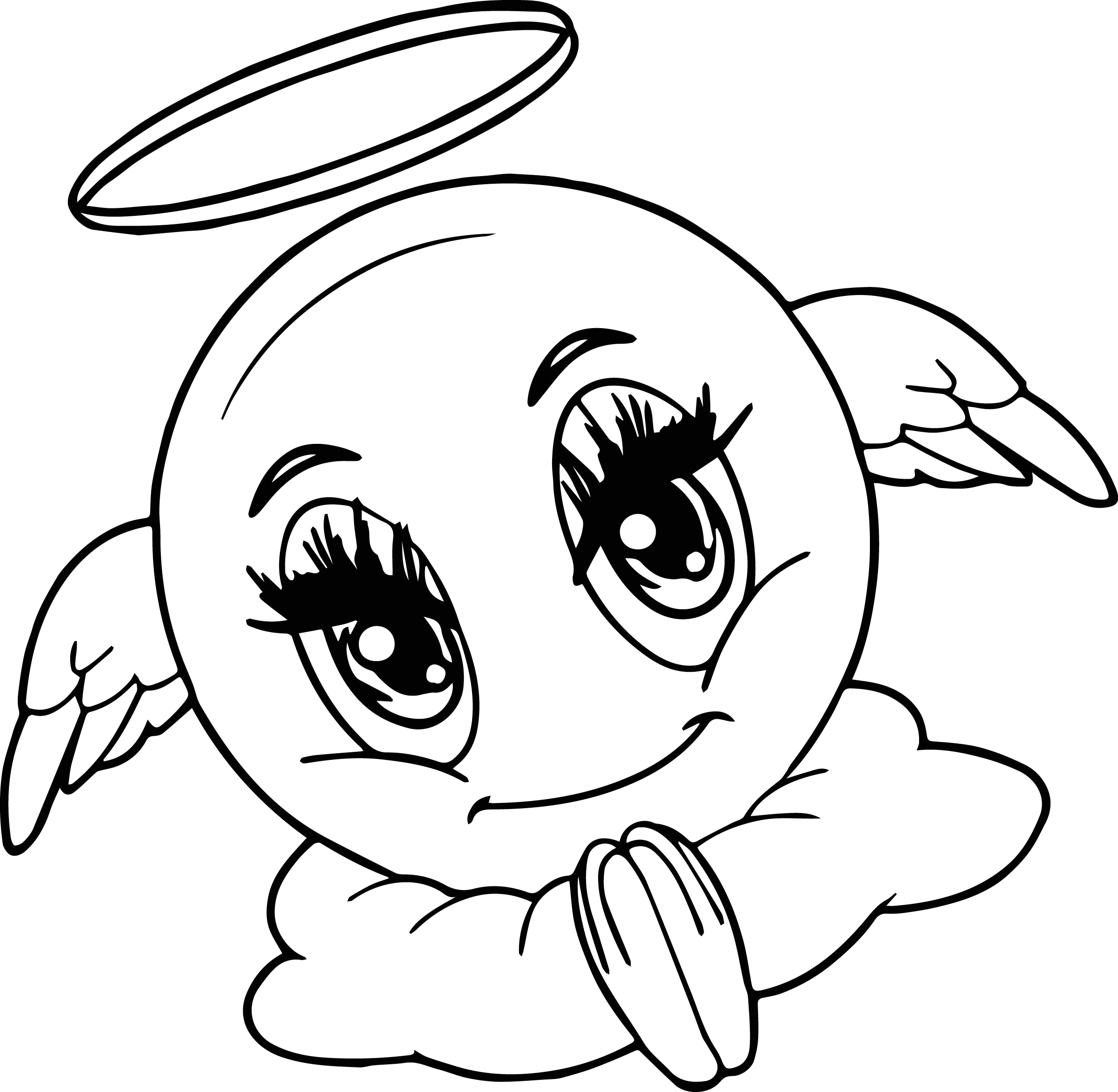 Emoji Coloring Pages to Print for Free Free Emoji Coloring Pages to Print