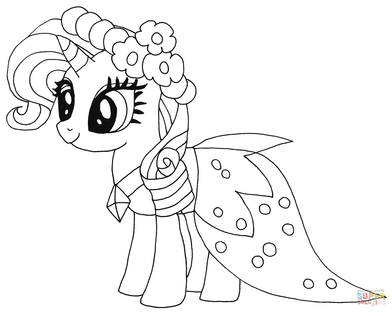 flurry heart coloring pages to print