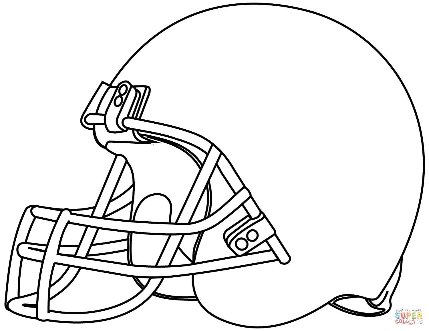 Free Football Helmet Coloring Pages to Print 25 Creative Picture Of Football Helmet Coloring Page